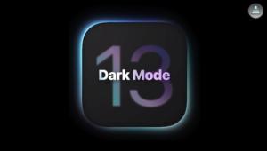 iOS13 ダークモード