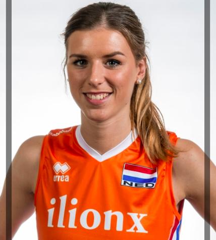 オランダ女子代表の12番