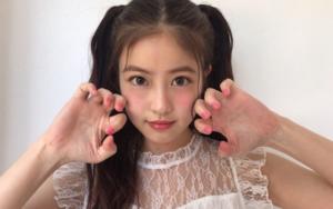 今田美桜の目頭