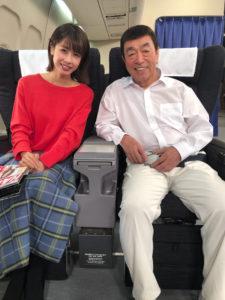 志村けんと加藤綾子