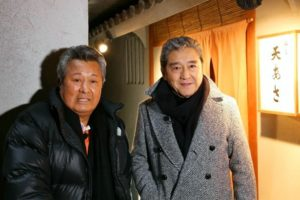 梅宮辰夫と松方弘樹