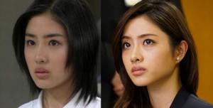 石原さとみの眉毛の変化